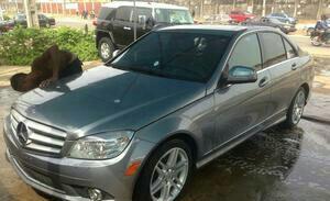 2012 Mercedes Benz C300 Grey For Sale