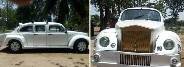 Photo Nigerian Made Volkswagen Beetle Limo Naijauto Com