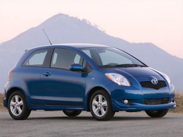 Toyota Yaris 2008 angular front