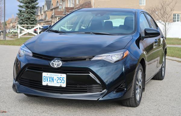 Toyota Corolla 2018 angular front