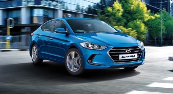 Hyundai Elantra angular front