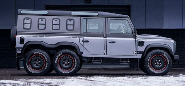 side of the Kahn Design Flying Huntsman Civilian Carrier