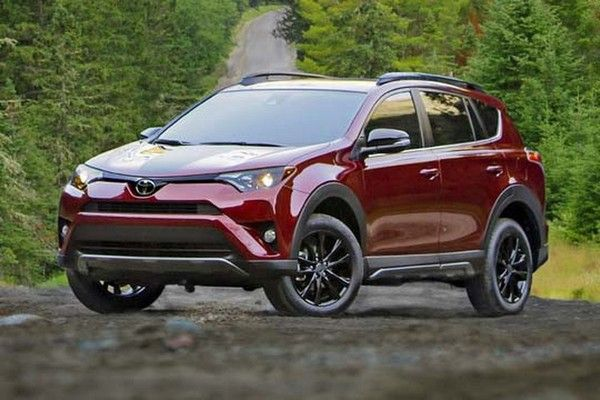 Toyota RAV4 angular front