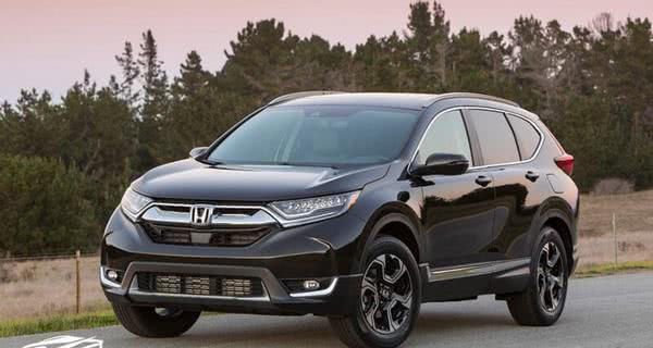 Honda CR-V angular font
