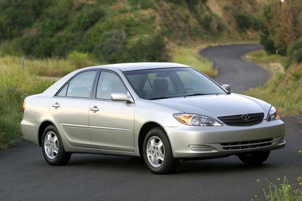 Toyota Camry angular front