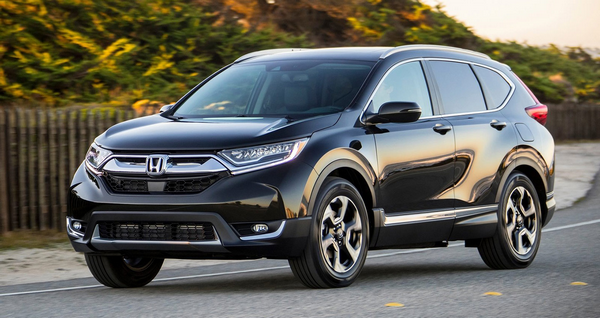 angular front of the Honda CR-V