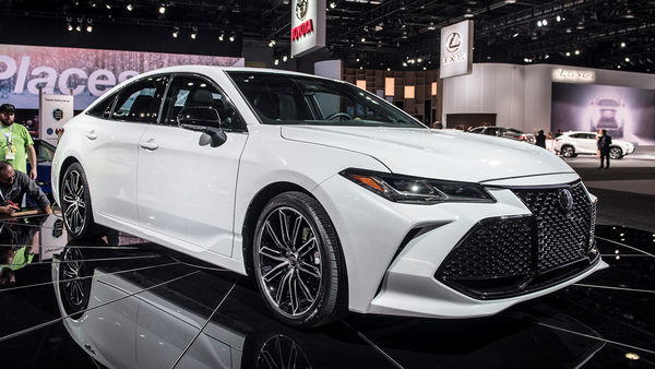 angular front of the Toyota Avalon