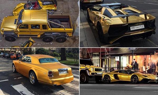 The Golden Cars Collection of Turki bin Abdullah