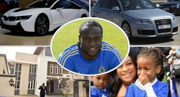 Victor Moses, his family, his house, and his cars