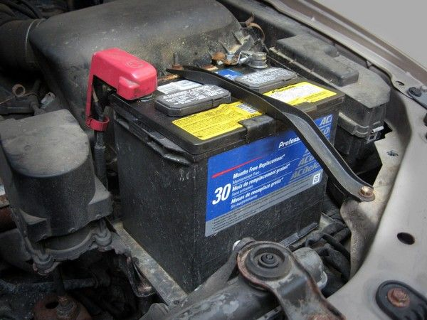 A car's battery