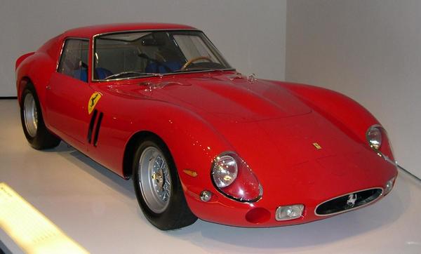 angular front of the Ferrari 250 GTO