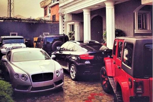 Mr. P's cars