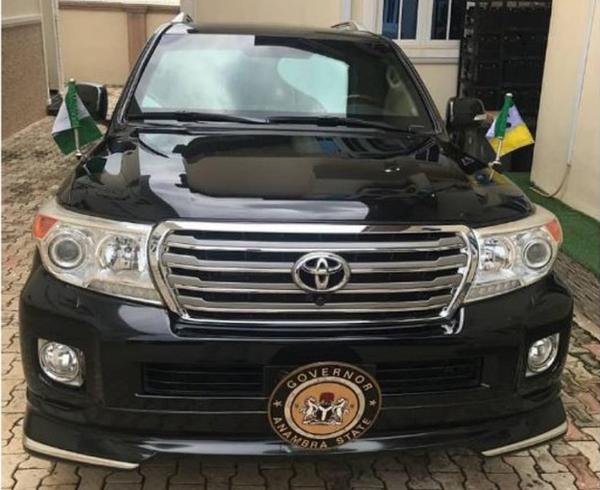 Governor Willi Obiano's Toyota Land Cruiser