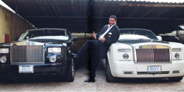 Aare Boluwatife Akin-Olugbade and his Rolls-Royces