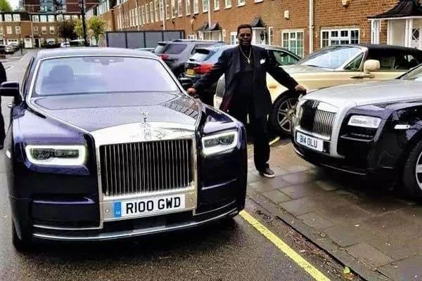 Aare Boluwatife Akin-Olugbade and his Rolls-Royce