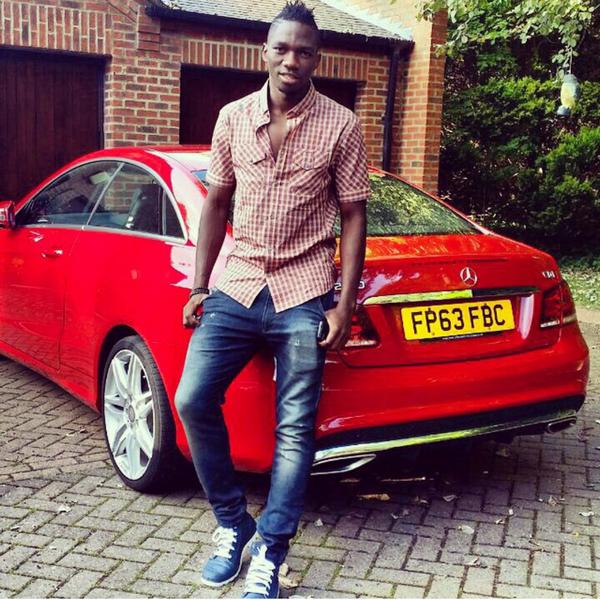 Kenneth Omeruo's car