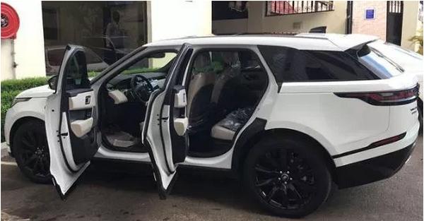 Ahmed Musa's car