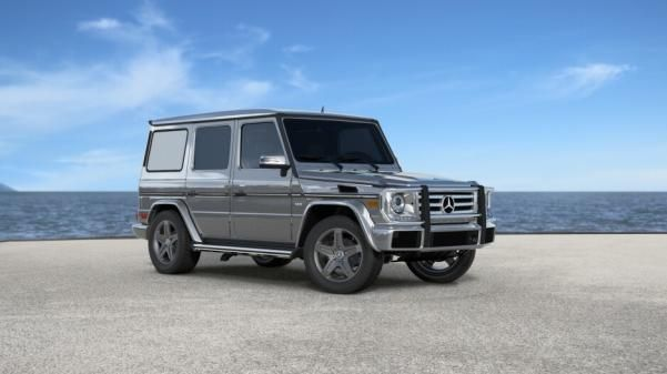 Mercedes G-Wagon angular front