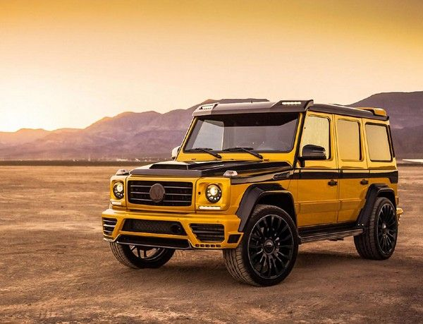 Mercedes-Benz G-Wagon angular front