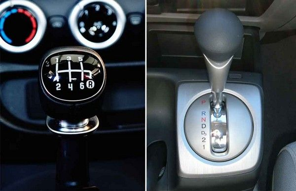 automatic and manual gear