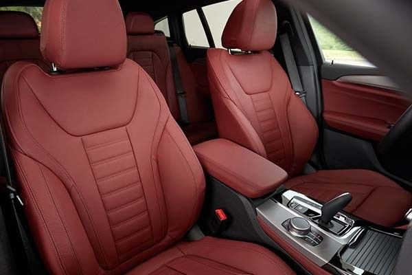 Stunning interiors of BMW X4, 2nd generation