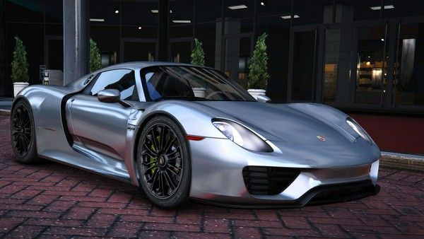 Porsche 918 - one of the 10 fastest cars in the world