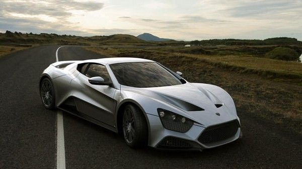 Zenvo St1 - one of the 10 fastest cars in the world