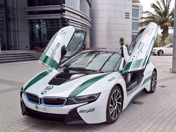 cars of dubai police force