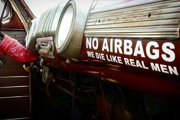 a car without airbags