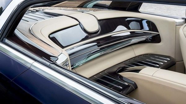 interior design of of Rolls Royce Sweptail - the most expensive car in the world