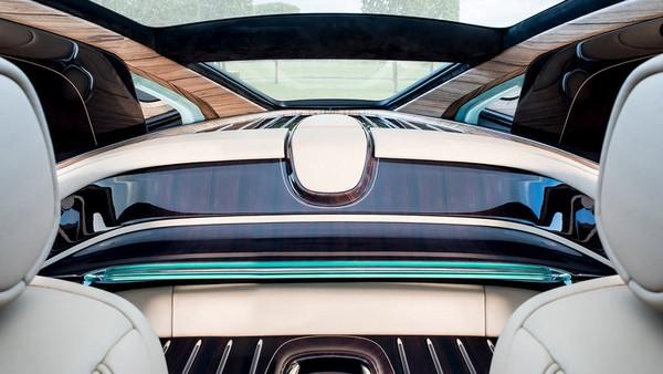 Rolls Royce Sweptail cabin