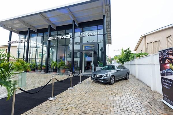 Mercedes Benz new showroom in Lagos