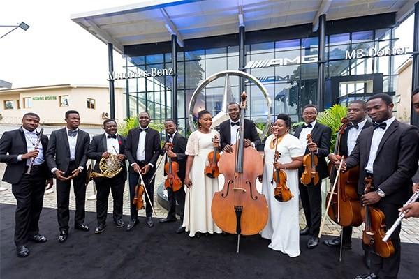 Opening ceremony of Mercedez Benz new showroom