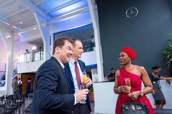 Opening ceremony of Mercedes Benz new showroom