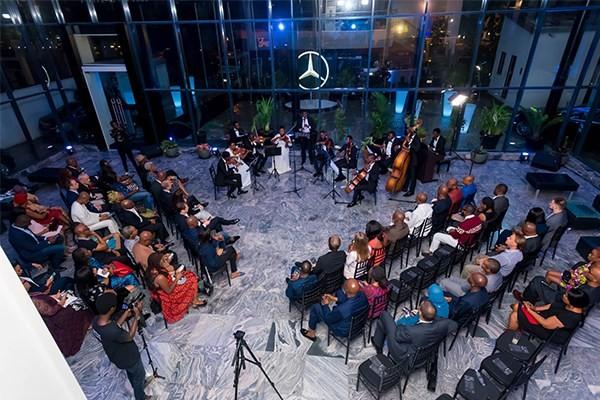 Mercedes new showroom in Lagos