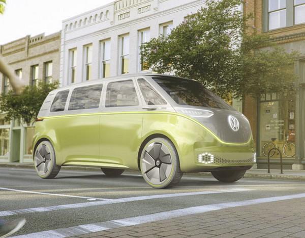 Volkswagen's new microbus