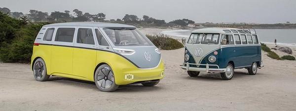 Volkswagen's microbuses