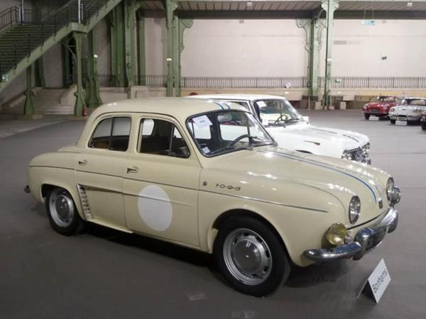 a Renault Dauphin