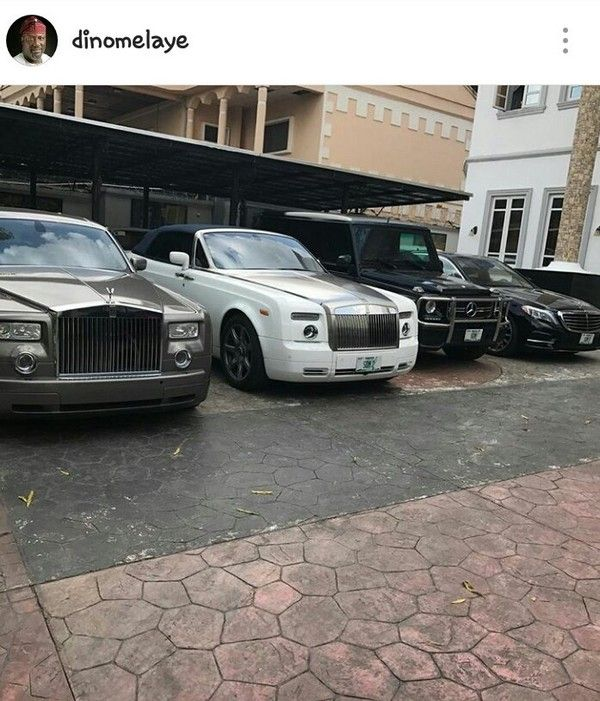 Dino Melaye's cars