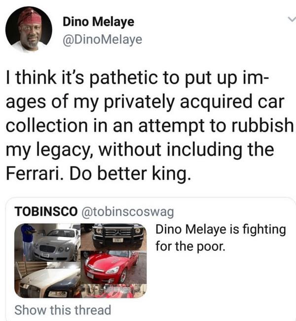 Dino's post