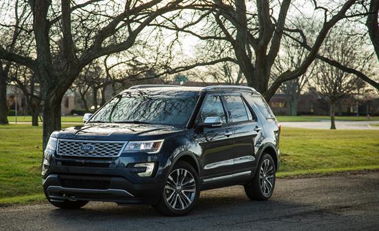 Ford Explorer angular front