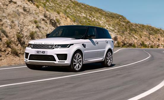a Range Rover Sports