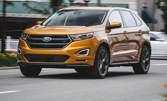 Ford Edge angular front