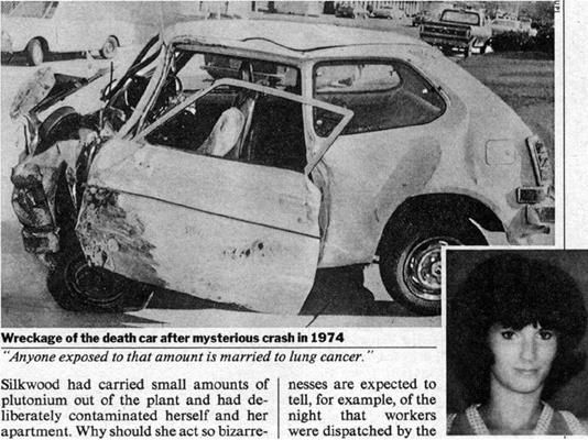 The news of the Karen Silkwood accident