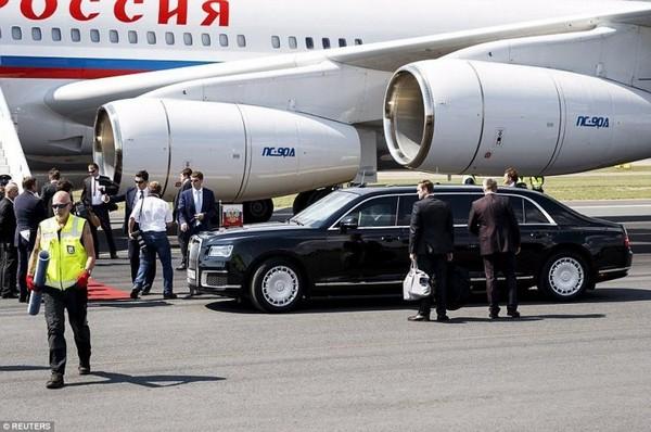 Putin's plane