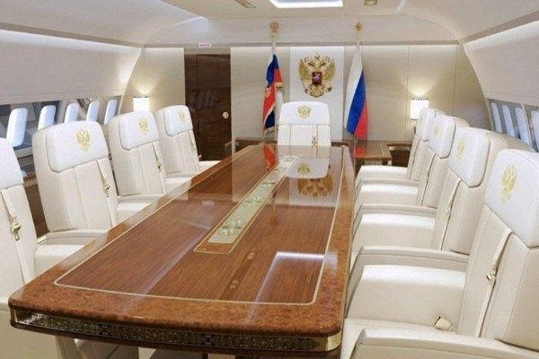 inside Putin's plane