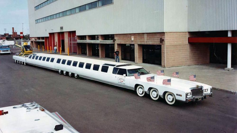 the longest Cadillac