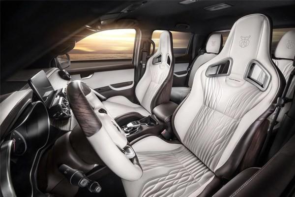 Mercedes Benz X-Class inside cabin