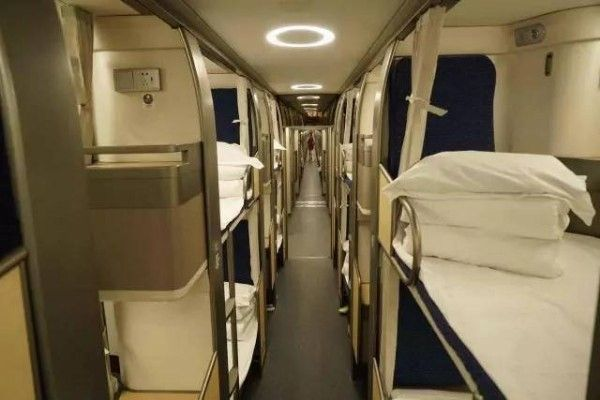 The Deluxe compartments on Chinese trains