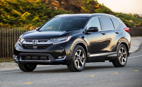Honda CRV on road
